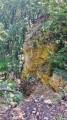 Les falaises du Bois des Roches depuis Chavigny