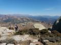 Le Monte San Petru depuis le Col de Saint-Eustache.