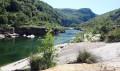 Sur les bords de l'Ardèche