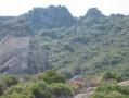 Les Trois Croix de Roquebrune par le côté Ouest