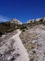 The climb up to Pas du Loup
