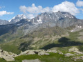 The Grand Combin and Mont Velan reveal themselves