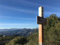 The summit of Mont Bastide