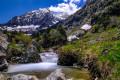 Torrent de Vaunoire et massif du Grand Armet