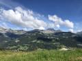 Panorama depuis la montée vers le Mont Lachat