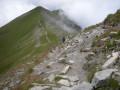 Towards the Tete du Veleray