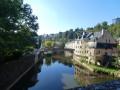 Traversée de l'Alzette à Luxembourg-ville