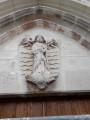 Tympan de l'église de Vézilly