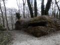 Un bunker dans le cimetière