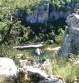 Un des nombreux points de vue sur les Gorges du Chassezac