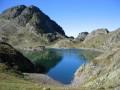 Un lac des couleur (2) : bleu