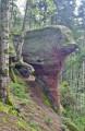 Un rocher en forme de marteau