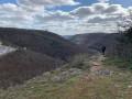 Une des vues depuis une falaise