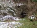 une entrée du dépôt intermediaire du Bois d'Arches