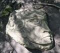 une pierre taillée