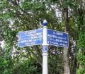 Une plaque de Cocher au Libérot