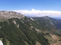 Vallée d'Omblèze depuis la crête de la Sausse