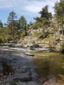 Vasques sur le Golo vers 1020 m