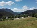 Le Col du Liorin depuis les Sables