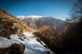 Vers le sommet des rochers