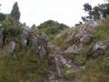 Vers le sommet de la Roche du Feu