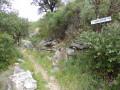 Vers le village en ruine de Las Cases