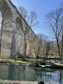 Châteaux, pont de bois et viaduc à Pont-Chrétien