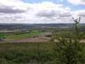 View from bench on Martinsell Hill