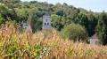 Village dans le maïs