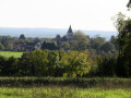 Village de La Berthenoux vu des Hérauts