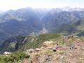 Pic du Cabaliros depuis Sireix