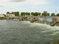 Villeperrot. Le barrage