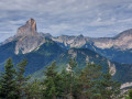 Vu du Mont Aiguille