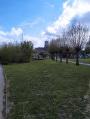Chemin champêtre au bord de la Lys