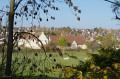 Vu sur le domaine de la Baronnie depuis la voie verte