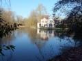 Vue arrière d'un des moulins à eau du Loiret.