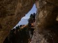 Vue au Sud Est depuis la fenêtre du Tunnel des Trèfles