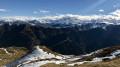 Vue au Sud-Ouest depuis le haut du Planard de Combe Rousse