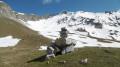 Vue de l'Aiguille du bas du Col de la Pourrachiére