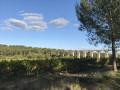Vue de l'aqueduc