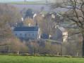 Vue de l'église de Saint Hadelin à partie de Les Agaus