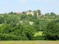 Vue de l'église et du château