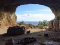 Vue de la grotte