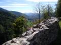 Vue de la vallée depuis le Schlossberg