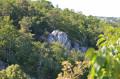 Vue de la vallée du sommet du tombeau de Marie Joly