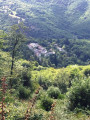 Vue de Laviale (hameau de Castans)