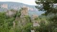 Vue de loin de l'Ermitage Saint-Michel