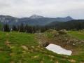 Vue depuis col de la Grande Vache