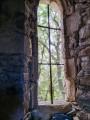 vue depuis l'intérieur de la Chapelle