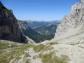 Vue depuis le Col des Aiguilles vers l'Ouest